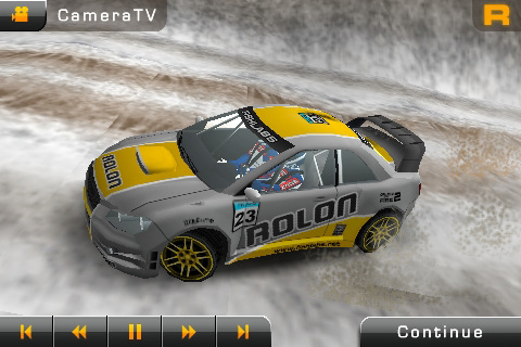 Rally Master Pro update: Retina display support, ghosts, damage-free racing...