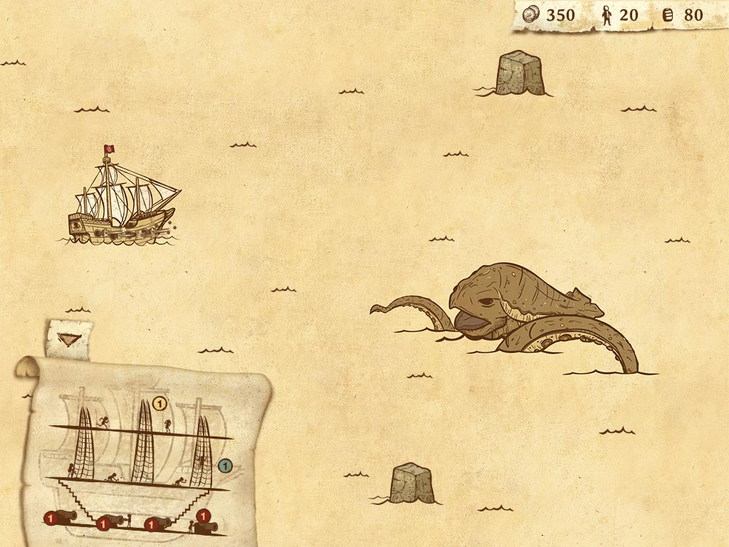 Here Be Dragons is a strategic adventure full of beasts and disease, coming to tablets