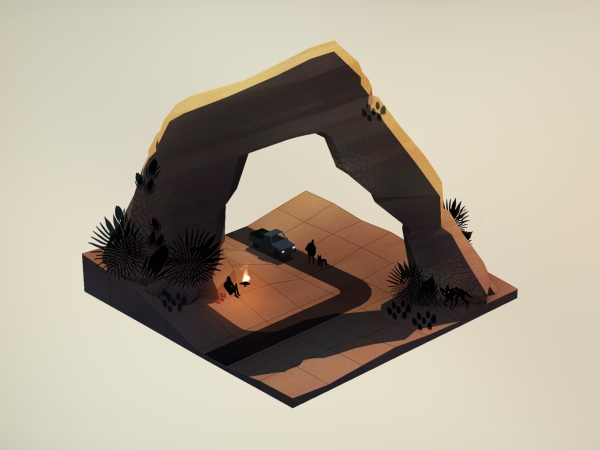 Overland will have you tactically guiding survivors across a ruined America this summer