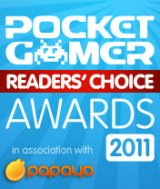 The Pocket Gamer Readers' Choice Awards 2011 are live