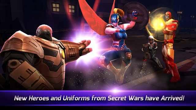 New Marvel Future Fight update adds Secret Wars and new characters