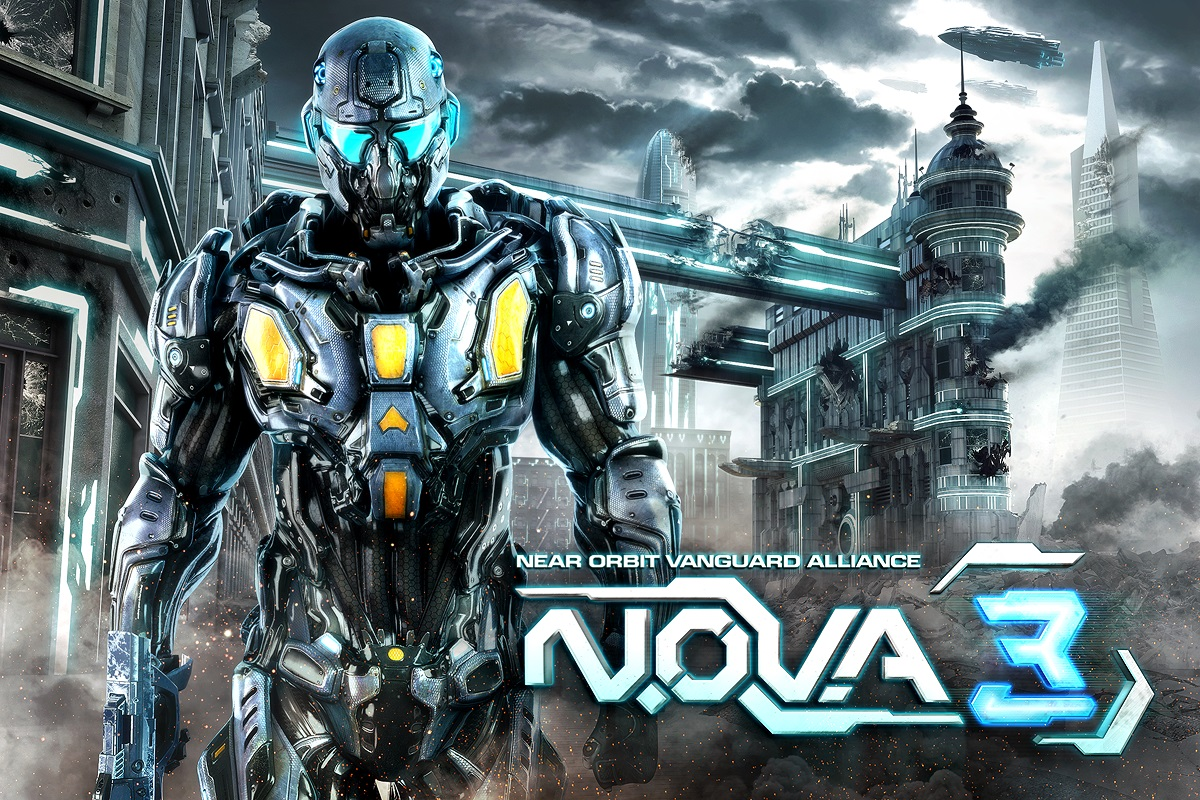 Gameloft's N.O.V.A. 3 and Gangstar Rio are now available for free on the App Store