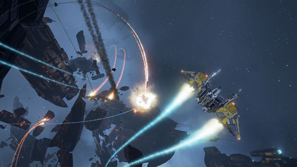Meet the Oculus Rift's first official launch title in this EVE Valkyrie hands on