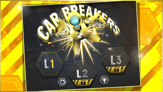 Out at midnight: Car Breakers lets you crash cars to fling dummies at dinosaur mouths