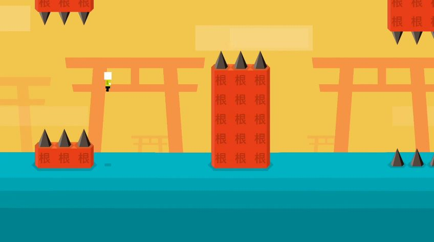 Try your luck in Mr Jump S, a slightly easier version of Mr Jump, out now on iOS