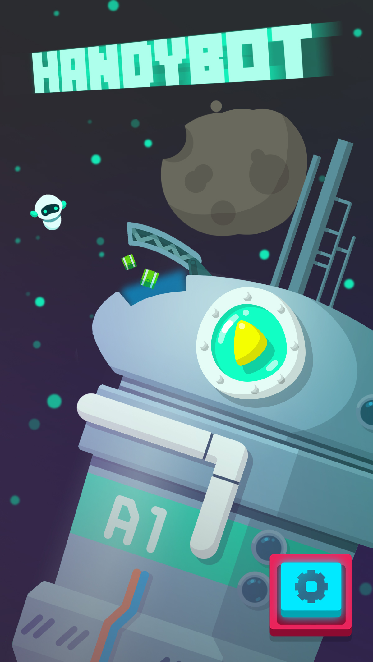 Intriguing puzzler HandyBot pulls and drags items on its way to iOS and Android