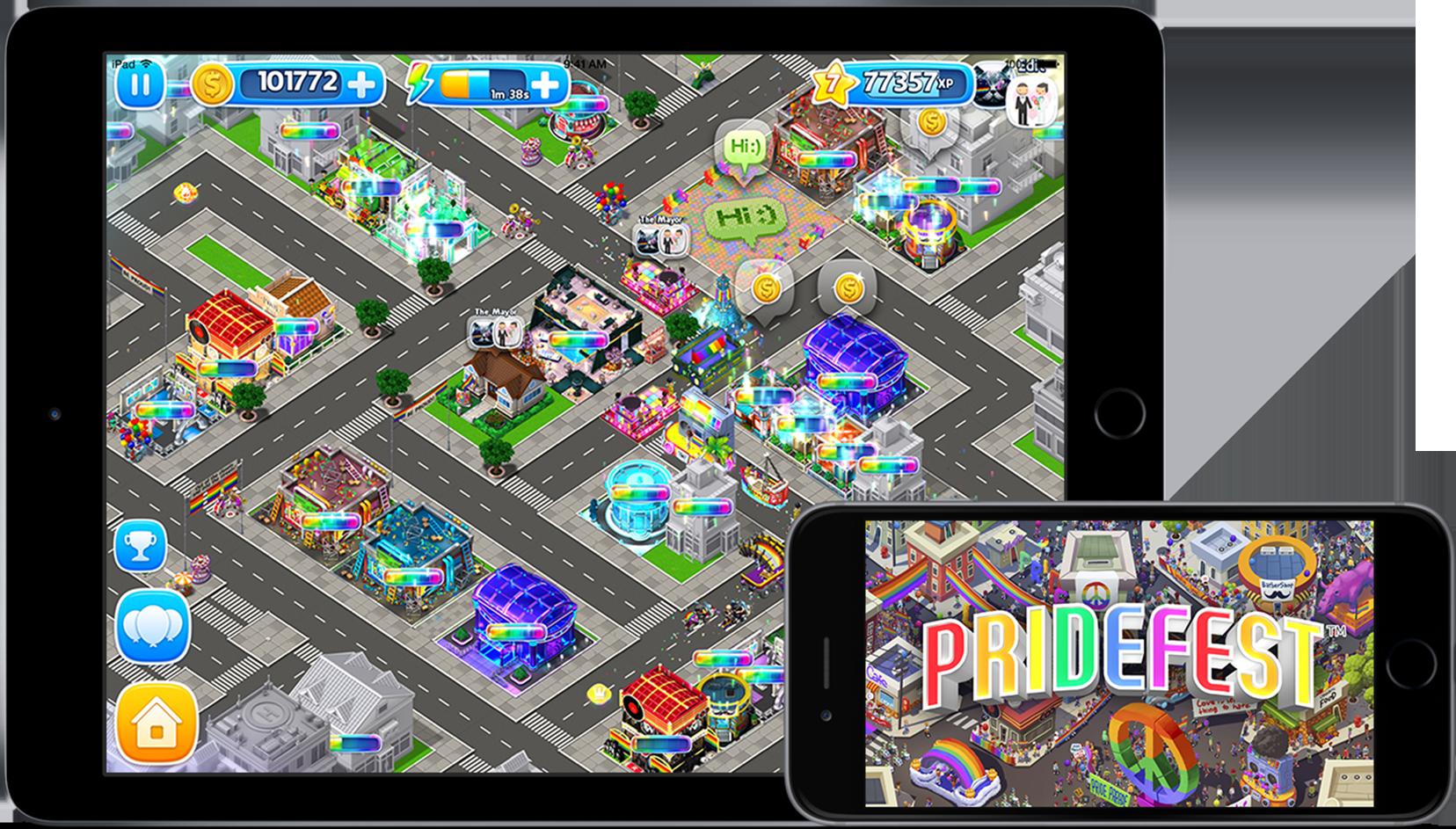Celebrate the LGBTQ community with Atari's simulation Pridefest