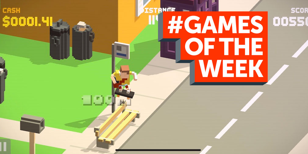 GAMES OF THE WEEK - The 5 best new games for iOS and Android - April 18th