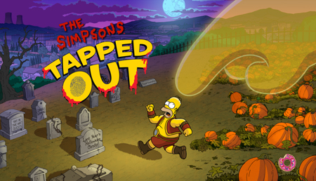 Halloween is upon us in the latest update to The Simpsons: Tapped Out