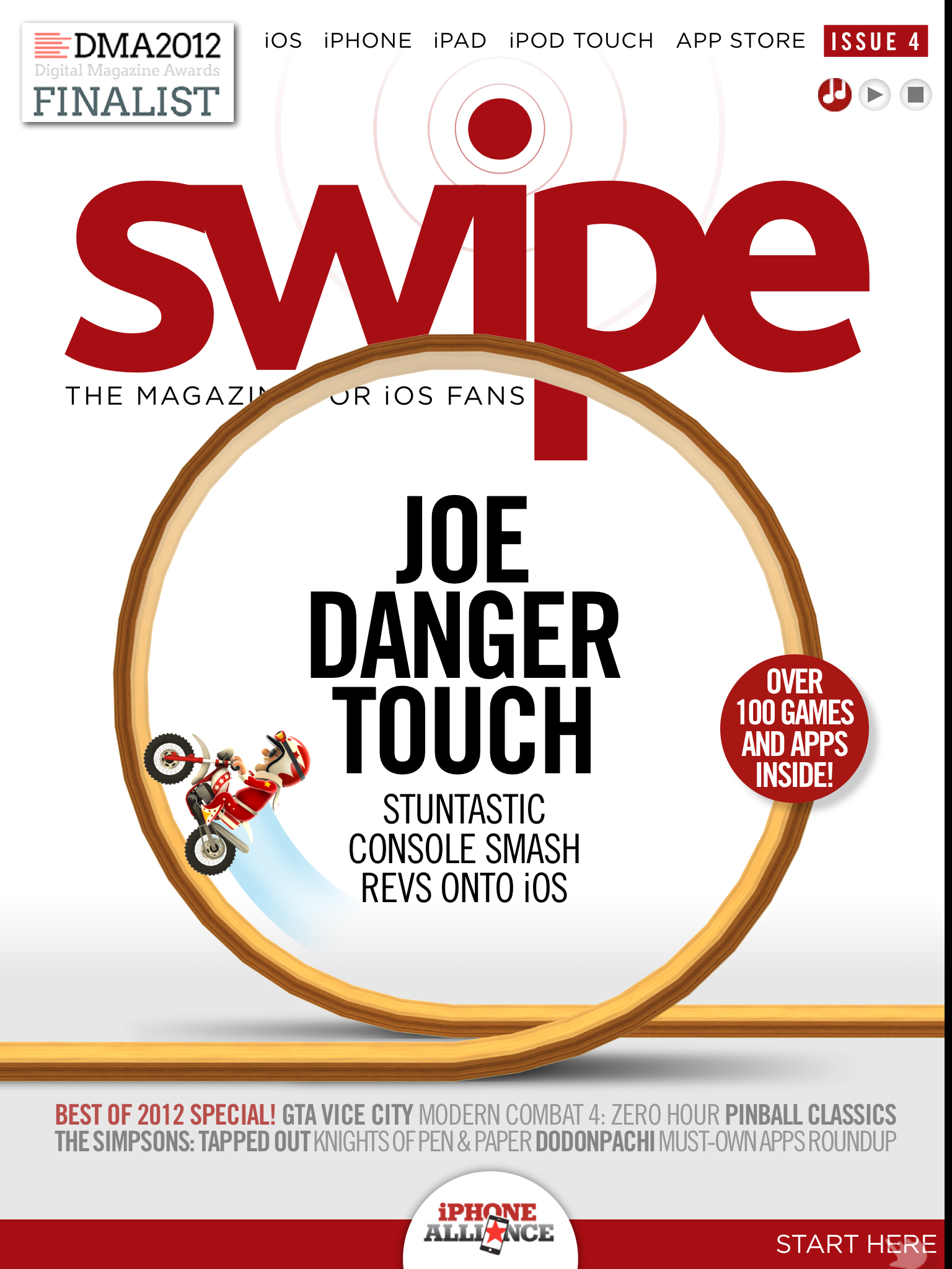 Steel Media's swipe magazine goes free-to-read as issue 4 hits Apple's Newsstand