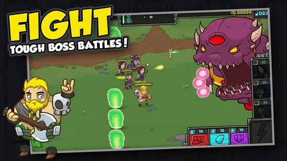 Out at midnight: Bardbarian is a one-finger mash-up of tower defence and arcade action for iOS