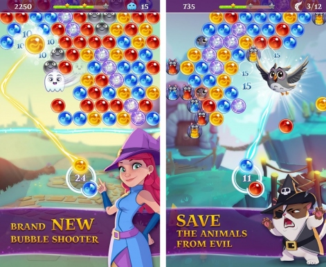 Bubble Witch Saga 3 softlaunched in the Philippines