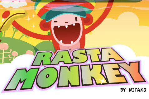 RastaMonkey chillin' on the iPhone