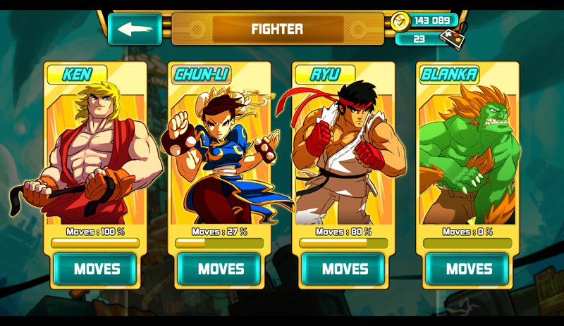 The Game Bakers has added Street Fighter characters to its Silver Award-winning swipe-to-thwack brawler Combo Crew