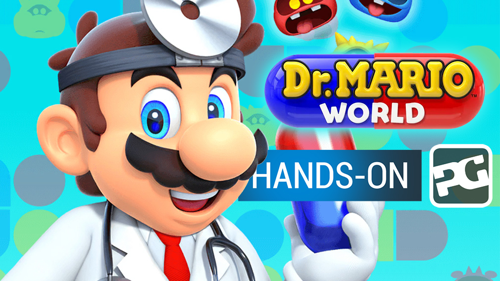 "Dr. Mario World hands-on video - ""Your second opinion"""