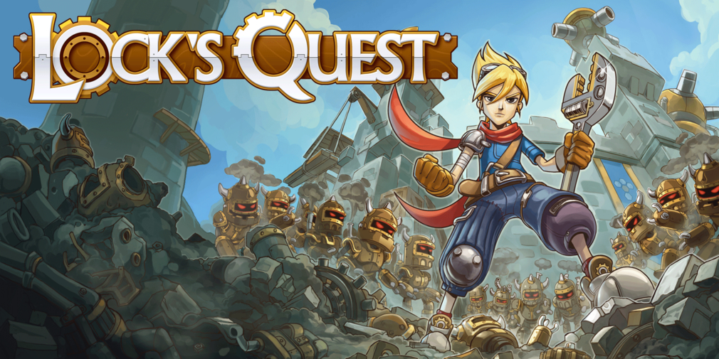 Lock's Quest is re-releasing on mobile, you can pre-register now