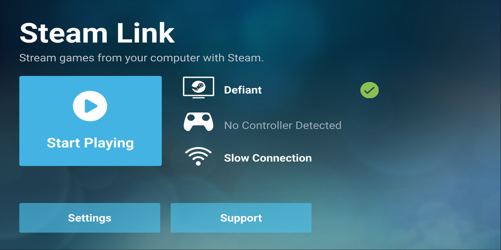 Steam Link App for Android leaves beta, allowing for mobile