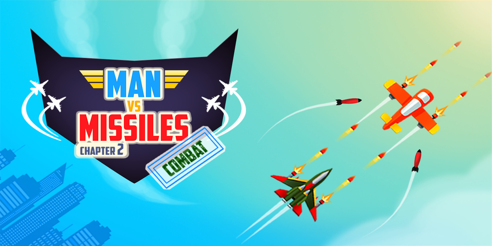 Man Vs Missiles: Combat is a dogfighting game that's available now on Apple and Android devices