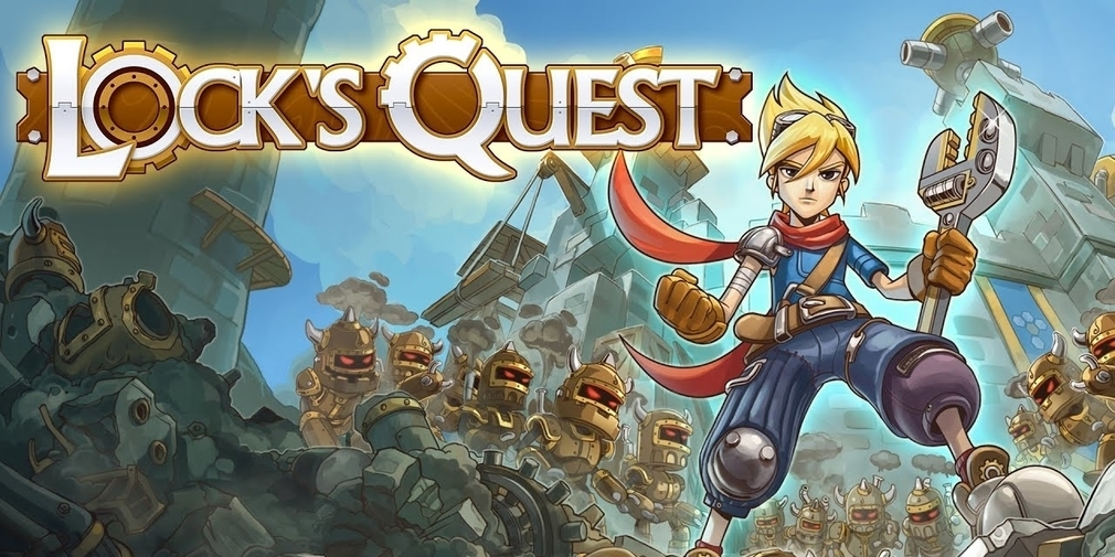 Lock's Quest, the beloved DS tower defence game, is available now for iOS and Android
