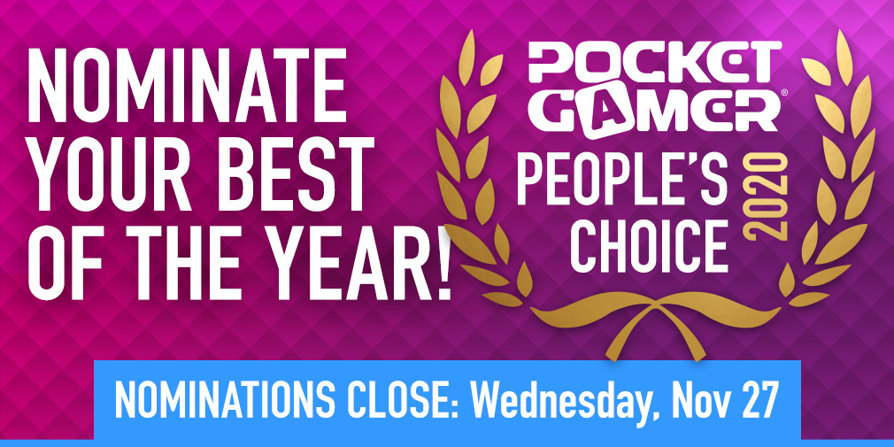 Nominate YOUR Game of the Year for the Pocket Gamer People's Choice Award 2020