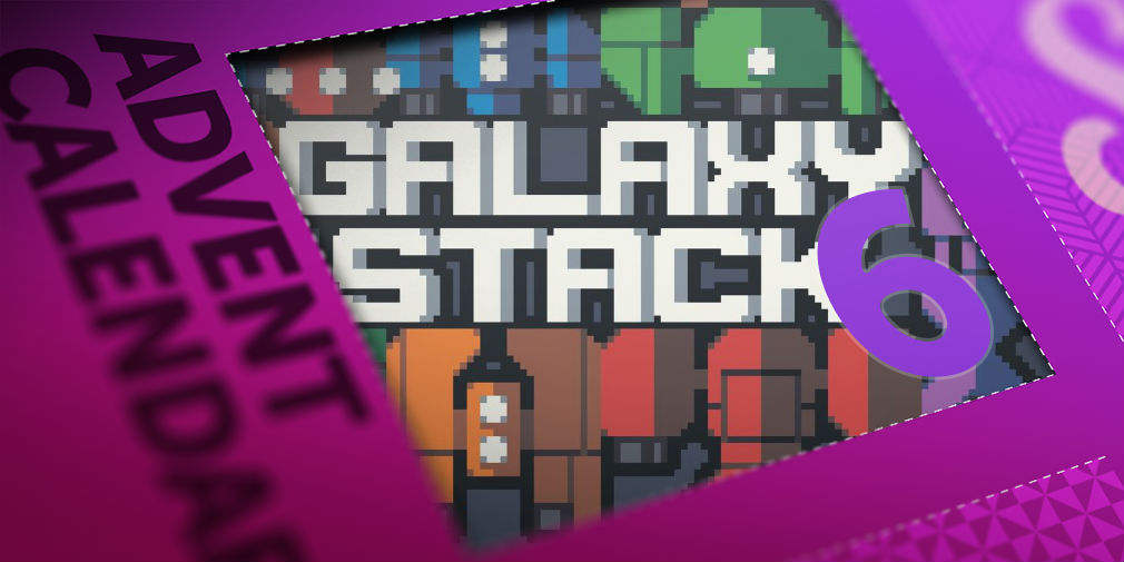 Win an iOS code for Galaxy Stack in day six of our advent calendar