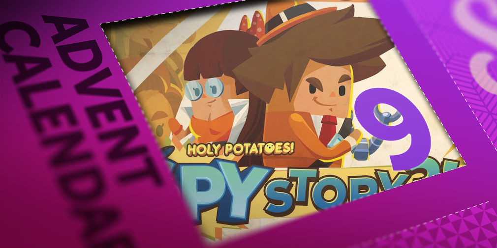 Win one of 10 iOS codes for Holy Potatoes! A Spy Story?! in day 9 of Pocket Gamer's advent calendar giveaway