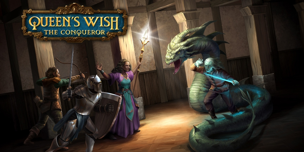 Queen's Wish: The Conqueror, Spiderweb Software's RPG epic, is out now for iPhone and iPad