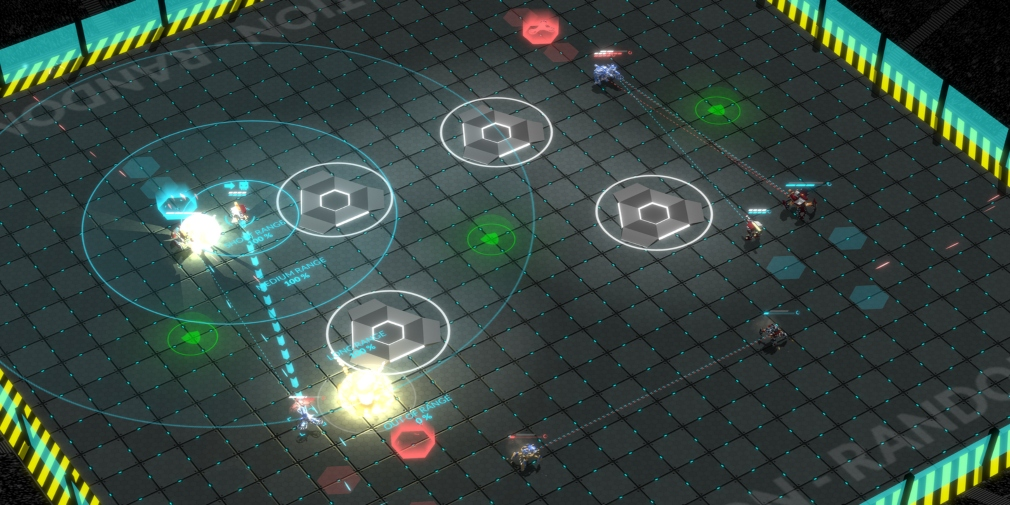 Gladiabots is an AI programming and robotic combat game that's heading for iOS later this month