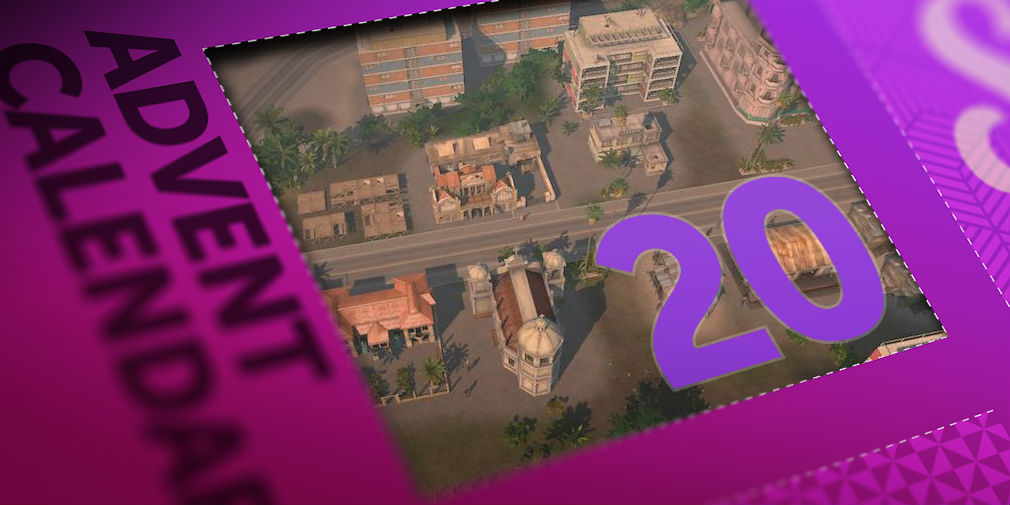 Win yourself an iOS or Android code for the awesome Tropico in day 20 of our advent calendar competition