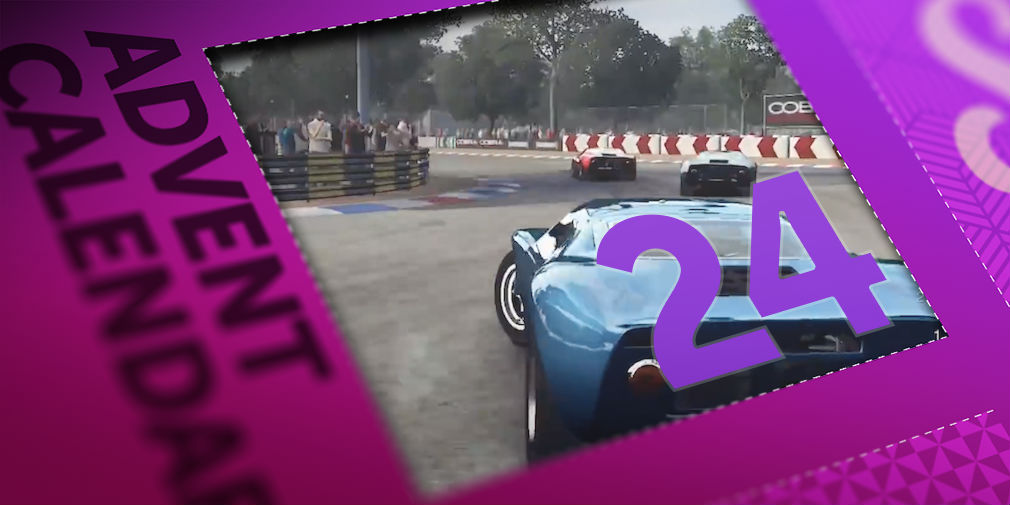Win a copy of the amazing GRID Autosport in day 24 of our advent calendar giveaway