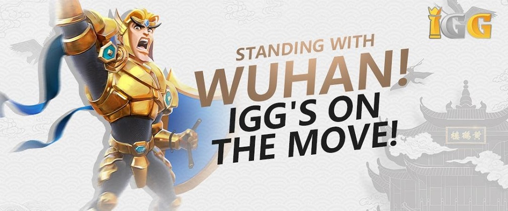 Mobile game publisher IGG pledges support to fight the ongoing Wuhan epidemic