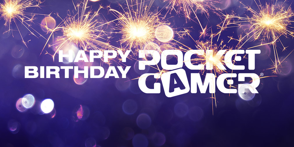 Happy birthday to us, Pocket Gamer is 14 years old today
