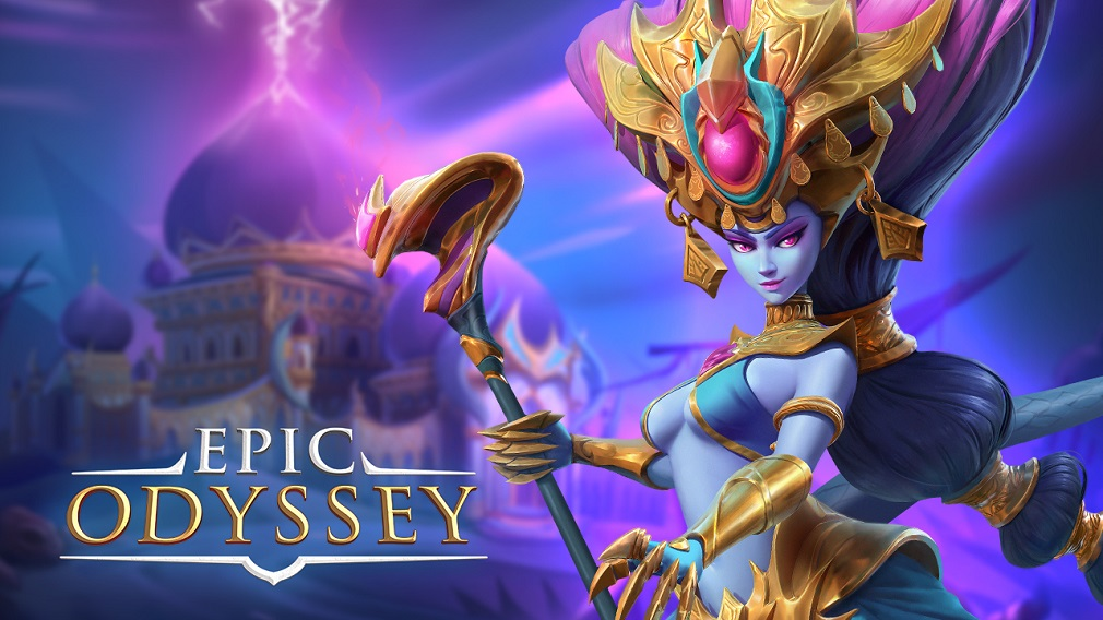 "Epic Odyssey gameplay video - ""Visually stunning auto battling action"""