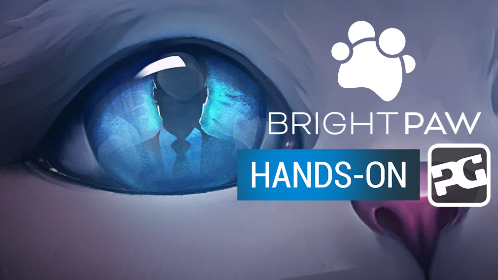 "BRIGHT PAW gameplay video - ""Stealth, story-based puzzles"""