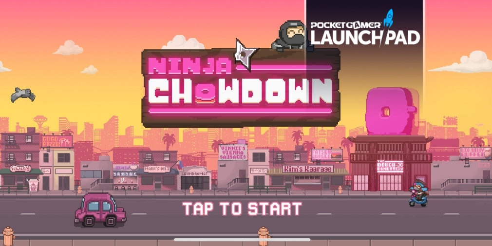 Check out some exclusive gameplay footage from upcoming auto-runner Ninja Chowdown