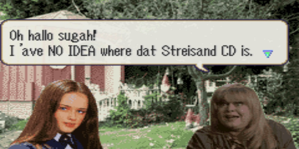 Someone has made a Gilmore Girls mod for Fire Emblem: The Sacred Stones