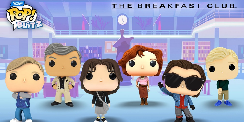 Funko Pop! Blitz adds iconic Breakfast Club characters in latest crossover