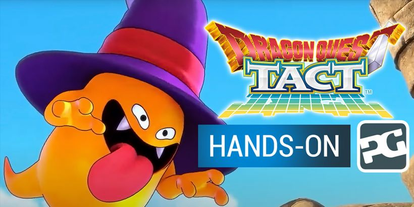 Dragon Quest Tact - gameplay video