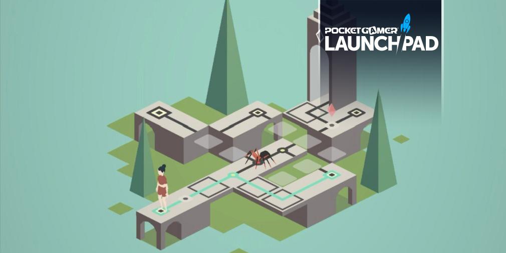 Великолепная головоломка в стиле Долины монументов Poly Vita выйдет в Google Play вместе с iOS.