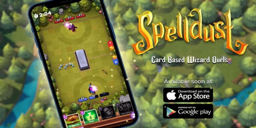 The best new mobile game of the week: Spelldust - 25th June 2021