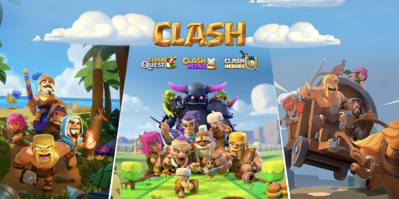 Three new Clash games from Supercell are heading for mobile, Clash Mini, Clash Quest and Clash Heroes