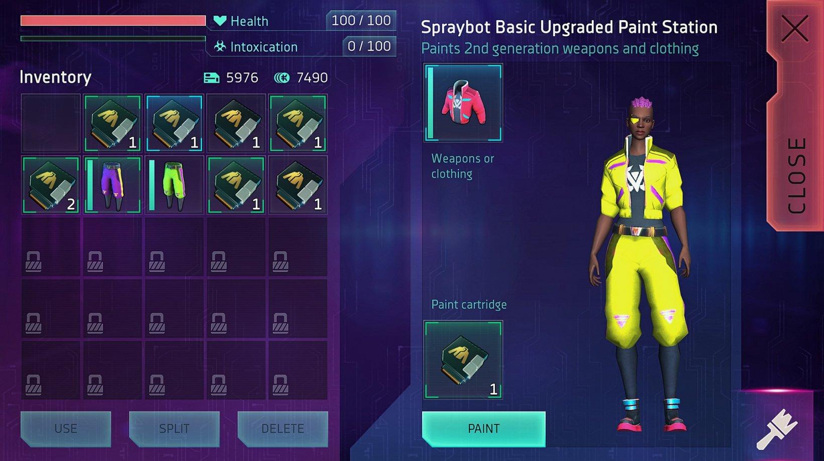 Cyberika gameplay