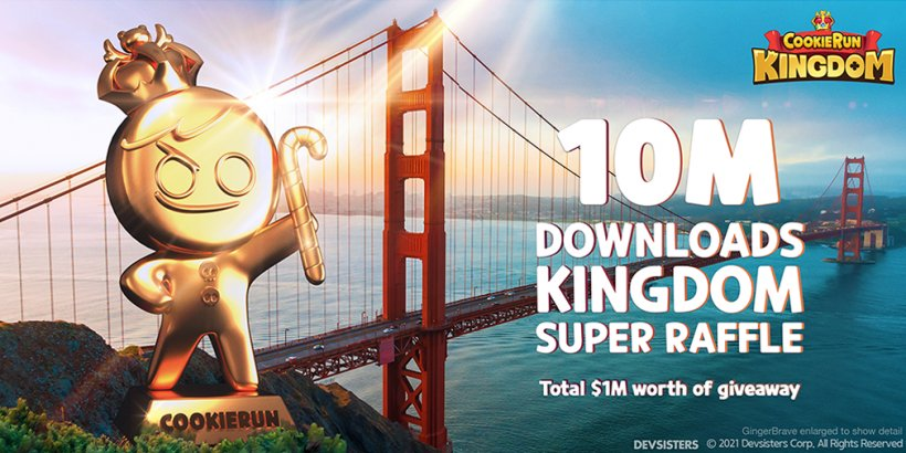Cookie Run: Kingdom: Get ready to win big at the 10 Million Kingdoms Super Raffle