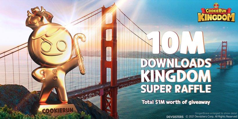 Cookie Run: Kingdom: Get ready to win big at the 10 Million Kingdoms Super Raffle