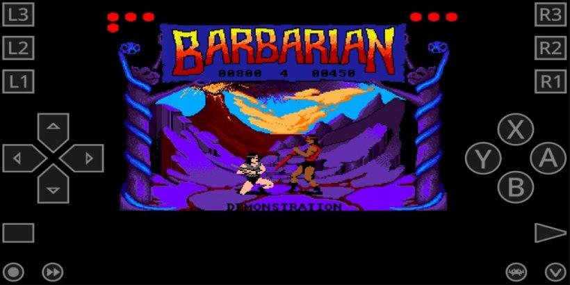 Barbarian - Amiga emulator on Android