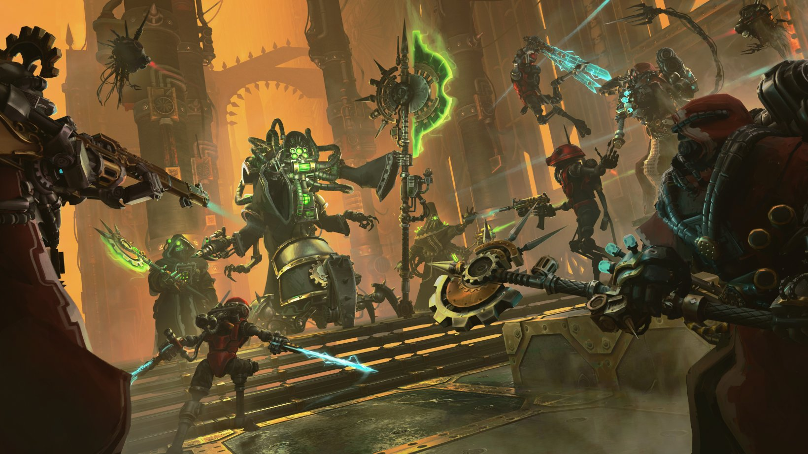 "Warhammer 40K: Mechanicus review - ""Praise be to technology"""