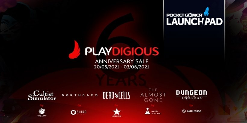 Playdigious celebrates its 6th birthday with massive discounts on several games