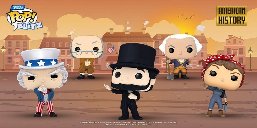 Get a taste of American history in Funko Pop! Blitz's newest weekly event