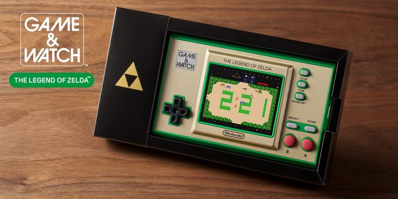 Nintendo releasing Game & Watch: The Legend of Zelda system this Autumn