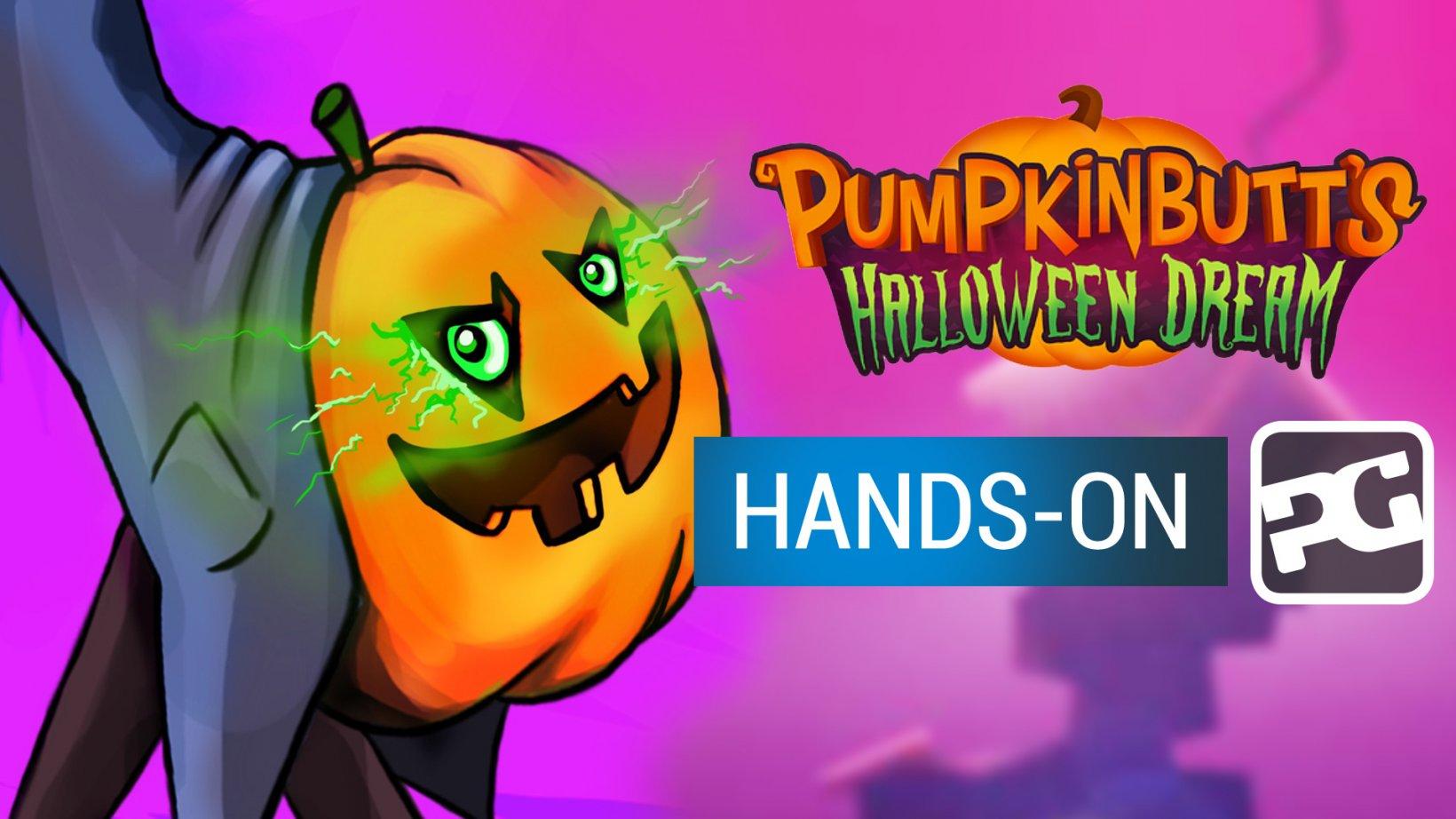 Pumpkinbutt's Halloween Dream gameplay video